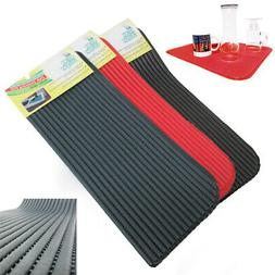 1 Dish Drying Mat  Absorbent Pad Anti Skid 18x14 Draining Un