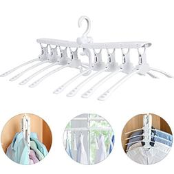 Mytour 8 in 1 Expandable Clothes Hangers For Shirts,Dress,He
