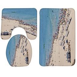 GVGs Shop 1 Set  Beach Play Gandia Rug Bathtub Mat Kids No S