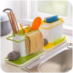 TUZECH 3 IN 1 Stand for Kitchen Sink for Dishwasher Liquid,