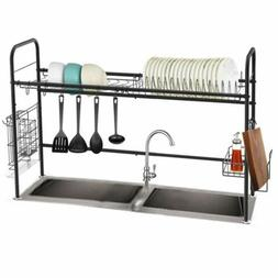 1 tier dish drying rack stainless steel