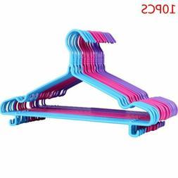 10X Adult Clothes Hangers Drying Rack Antiskid Closet Organi
