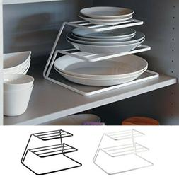 Durable 2-3 Tiers Dish Cup Drying Rack Holder Organizer Drai