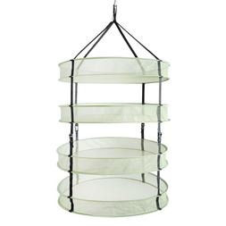 iPower 2 3FT 4 6 Layer Mesh Herb Plant Hanging Drying Rack N