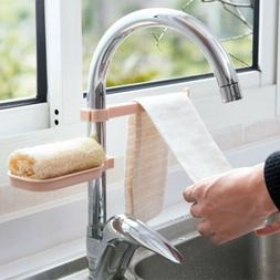 2 in 1 Kitchen Faucet Drain Rack Drying Sink Storage Organiz