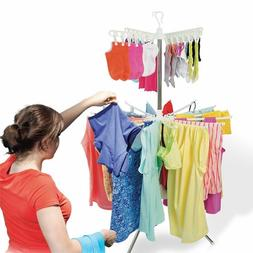 2 Tier Clothes Drying Rack - Laundry Drying Rack for Indoor