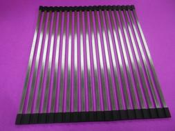 *20 TUBE ROLL UP SINK GRID COVER DRYING RACK