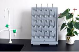 27 Pegs Lab Wall Desk Drying Rack Hign Density PC-PP Drippin