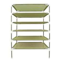 Smile Bud 27x27 Inch 6-Layer Sweater Drying Rack Stackable C