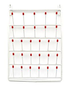 28 Peg Wall Mounted Laboratory Draining Rack - Eisco Labs