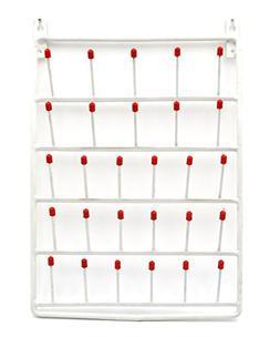 28 Peg Wall Mounted Laboratory Draining Rack - Eisco Labs