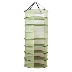 VIVOSUN 2FT 8 Layer Collapsible Herb Drying Rack