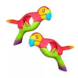 2PCS Clothespin Towel Clips Parrot Bird <font><b>Plastic</b>