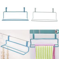 2x Over the Door Towel Rack Bath Towels Drying Holder Kitche