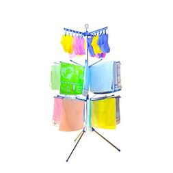 Baoyouni 3-Tier Foldable Standing Clothes Drying Rack Hanger