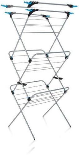 Mainstays 3-Bin Laundry Sorter, Silver