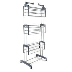 3-Tier Clothes Drying Rack Folding Laundry Dryer Hanger Orga