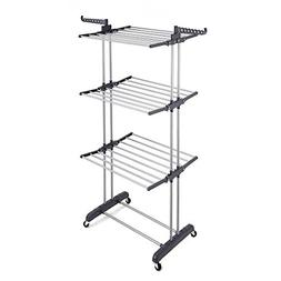 RichStar 3-Tier Clothes Drying Rack with Commercial Grade Ca