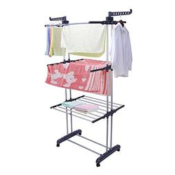 Greensen 3 Tier Clothes Drying Rack For Laundry Folding Laun