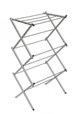 STORAGE MANIAC 3 Tier Folding Anti Rust Compact Steel Clothe