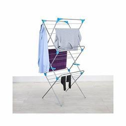 Minky Homecare 3 Tier Indoor Drying Rack, Silver