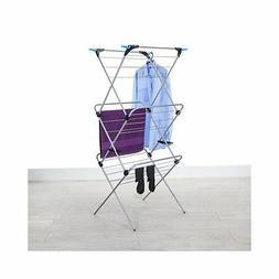 3 tier plus indoor drying rack silver