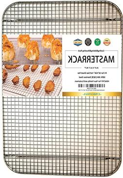 MASTERRACK 100% 304 Stainless Steel Cooling Rack and Wire Gr