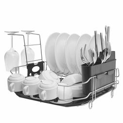 304 stainless steel dish drying rack set