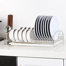 TY&WJ 304 stainless steel Sink Plate dish drainer Wall-mount