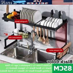 33.5'' Stainless Steel Kitchen Over Sink Dish Drying Rack Cu