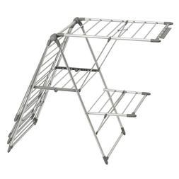 Interdesign 39776 Brezio Aluminum Laundry Drying Rack-5 Shel