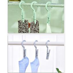 3pcs/set <font><b>Plastic</b></font> Clothes Pegs Travel Por