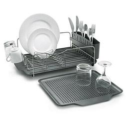 4pc Polder Advantage Dish/Cup/Plates Drying Rack/Holder Kitc