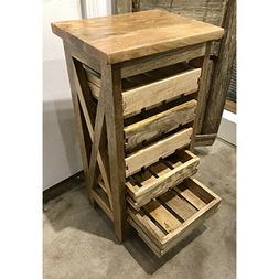 5 drying trays wood table rack farmhouse