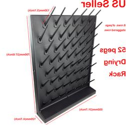 52 Pegs Lab Supply Wall Desk Telescopic Drying Rack