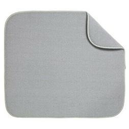 Kitchen Basics 585401 Dish Drying mat, Large, Gray