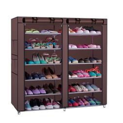 6 Tier Shoe Rack Shoe Shelf Storage Closet Organizer Cabinet