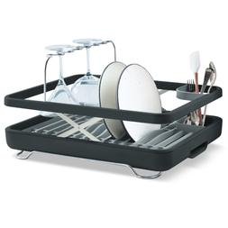 KOHLER Large Collapsible & Storable Dish Drying Rack with Wi
