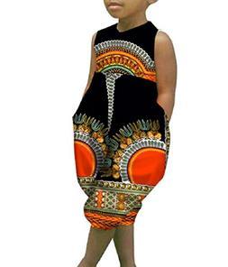 Highisa Boy's Dashiki Graphic Relaxed-Fit Batik Rompers Slee