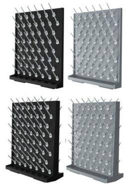 Azzota Pegboard Bench-top/Wall-Mount Laboratory Glassware Dr