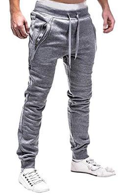 BAYY Mens Fashion Cotton Mid Waist Drawstring Pocket Collect