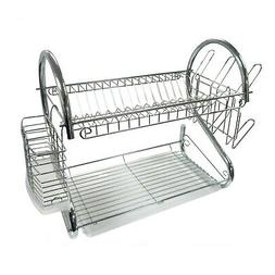"""Better Chef - 16"""" Dish Rack - Silver"""