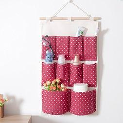 BranXin - Hanging Organizer Wall Wardrobe Hanging pockets Je