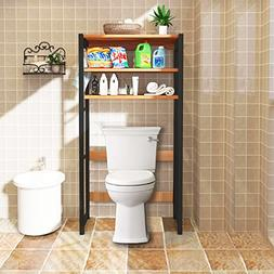 DL furniture - Bathroom Storage Shelf Over Toilet Space Save