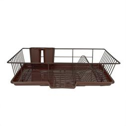 Home Basics DD30236 Dish Drainer Set , Bronze