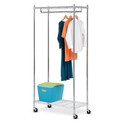 Honey-Can-Do GAR-01120 Heavy Duty Rolling Garment Rack