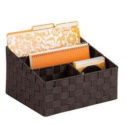 Honey-Can-Do OFC-03611 Woven Mail and File Desk Organizer, 1