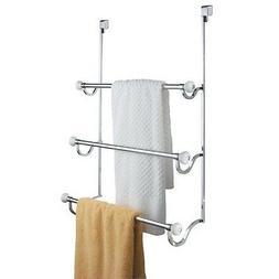 InterDesign York - Over-the-Shower-Door 3-Bar Towel Rack - W