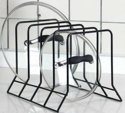 Kitchen Bakeware Pot Lid Rack Holder Organizer