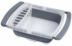 Prepworks by Progressive Collapsible Over-The-Sink Dish Drai